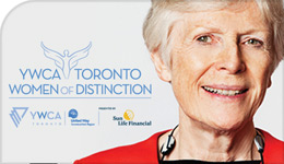 Professor Pat Armstrong one of YWCA's 2018 Women of Distinction | composite graphic | 2018-03-15